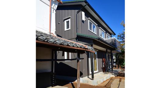 築150年の住宅と共存する家